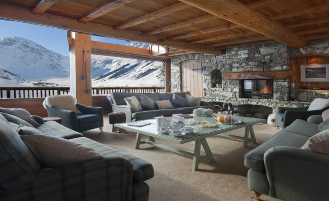A beautiful catered chalet in the popular French ski resort of Val d'Isère.