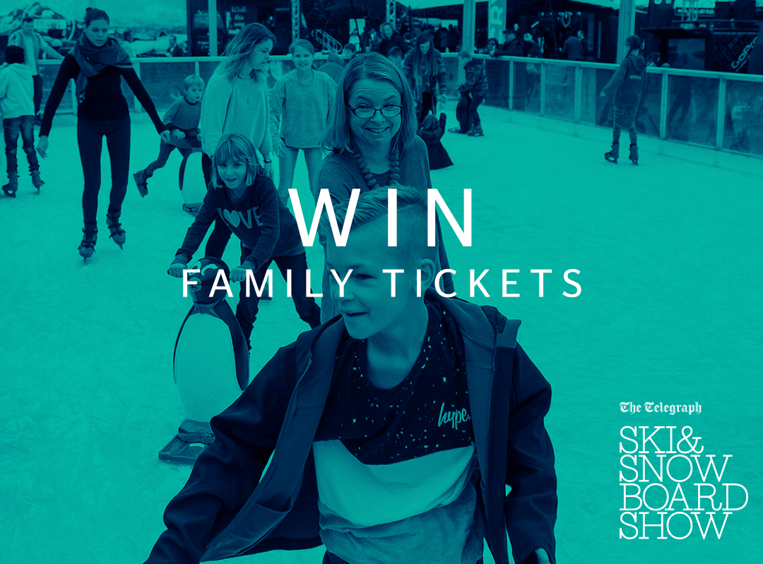 Win Tickets to The Telegraph Ski and Snowboard show