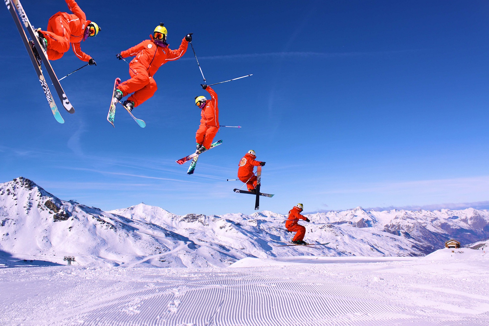 val thorens ski chalets in with interactive resorts