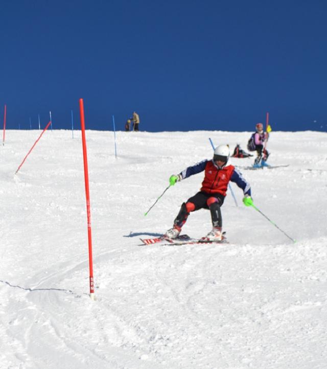 Skier in the Backseat photo credit Team Evolution