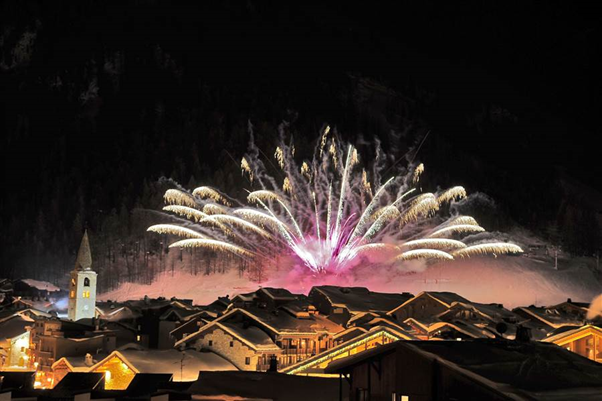 New Year's Eve in Val d'Isere